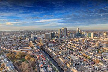 Den Haag van grote hoogte van gaps photography