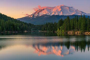 Mount Shasta, California, USA van