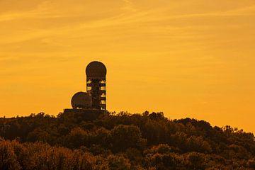 Alte Radarstation auf dem Berliner Teufelsberg von Frank Herrmann