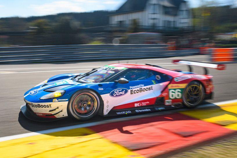 Ford Chip Ganassi Racing Ford GT-raceauto van Sjoerd van der Wal