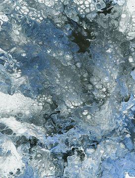 Abstrakte Komposition 1198 von Angel Estevez