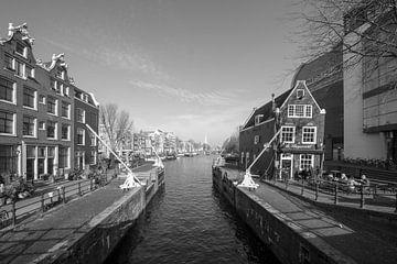 Sint Antoniesluis Amsterdam von Peter Bartelings Photography