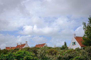 Dächer von Häusern von Johan Vanbockryck