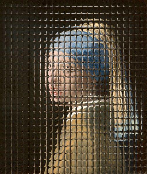 Meisje met de Parel - Through the Window Edition van Marja van den Hurk