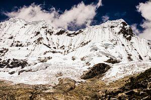 Sneeuw op Laguna 69 | Peru van Teuntje Fleur