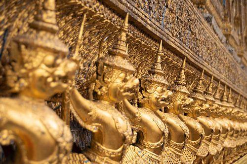 Tempel Bangkok van Jeroen Bussers