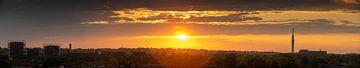 Panoramische Skyline Hilversum von Wolf Schouten