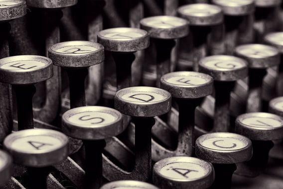 Schreibmaschinen Tasten