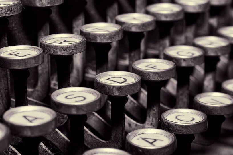 Schreibmaschinen Tasten von Markus Wegner