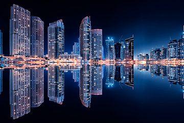 Dubaï Marina sur Manjik Pictures