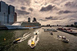 Harmony of the Seas ( Rotterdam Timelapse )  van