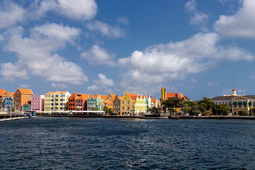 Punda Willemstad Curacao van Marly De Kok
