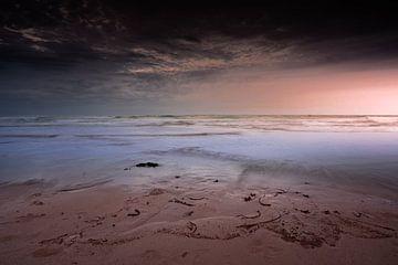 Sonnenuntergang in der Bretagne von Jeroen Mikkers
