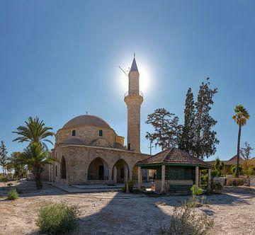 Die Moschee von Umm Haram, Larnaca, Zypern, Süd-Zypern von