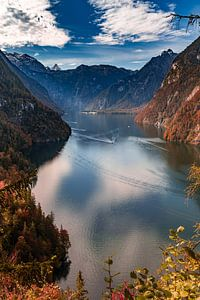 Königssee en automne sur Dirk Rüter