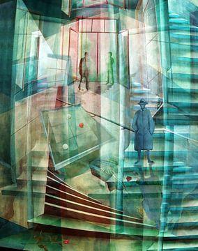 Raumirritation  van Gertrud Scheffler