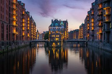 Speicherstadt, Hamburg (Duitsland)