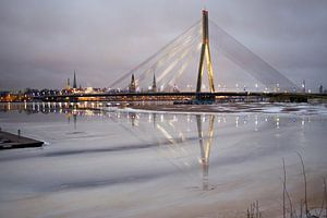 Brug Riga sur Jeannine Van den Boer