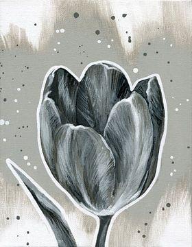 Tulp, nacht en dag