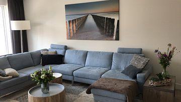 Photo de nos clients: Symétrie des brise-lames sur Desiree Tibosch