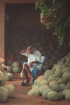 Kokosnootverkopers
