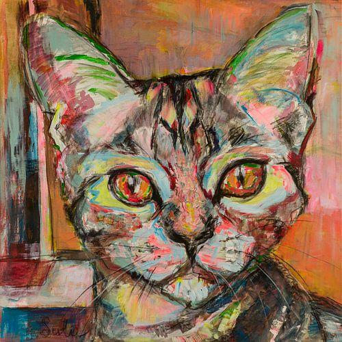 Kattenliefde van Liesbeth Serlie