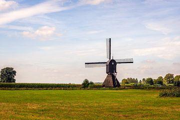 Zandwijkse Mühle bei Almkerk Niederlande von Ruud Morijn