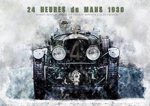 Le Mans winnaar 1930 van Theodor Decker