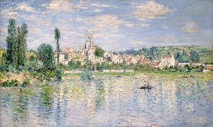 Vétheuil in de zomer, Claude Monet