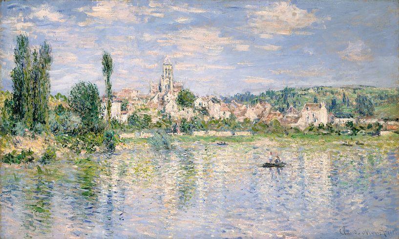Vétheuil in de zomer, Claude Monet van Meesterlijcke Meesters