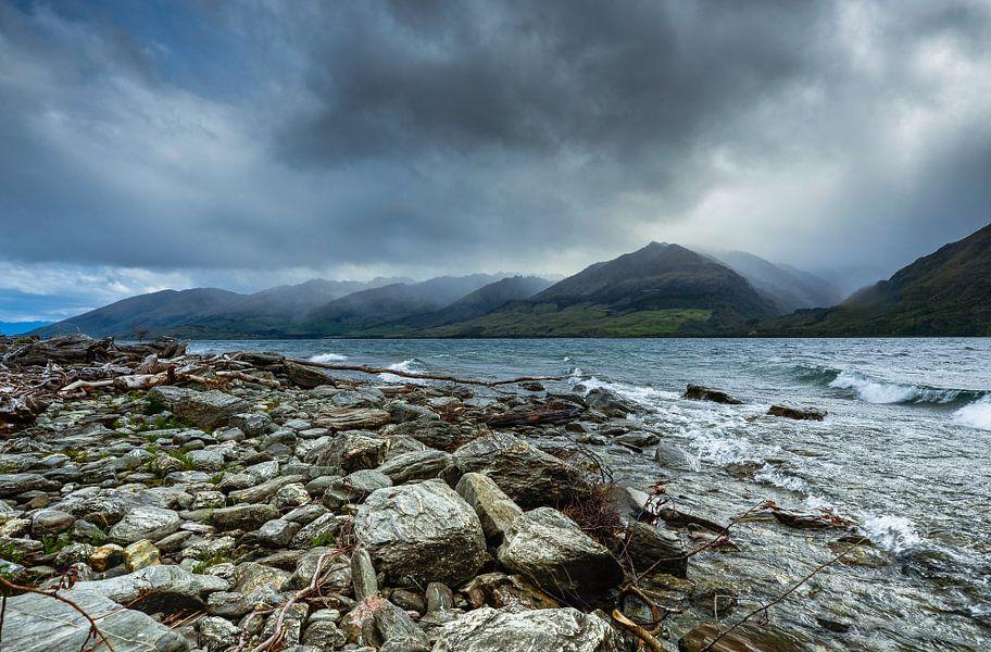 Storm in Nieuw Zeeland van Ricardo Bouman   Fotografie