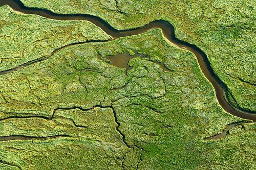 Schiermonnikoog vanuit de lucht van AGAMI Photo Agency