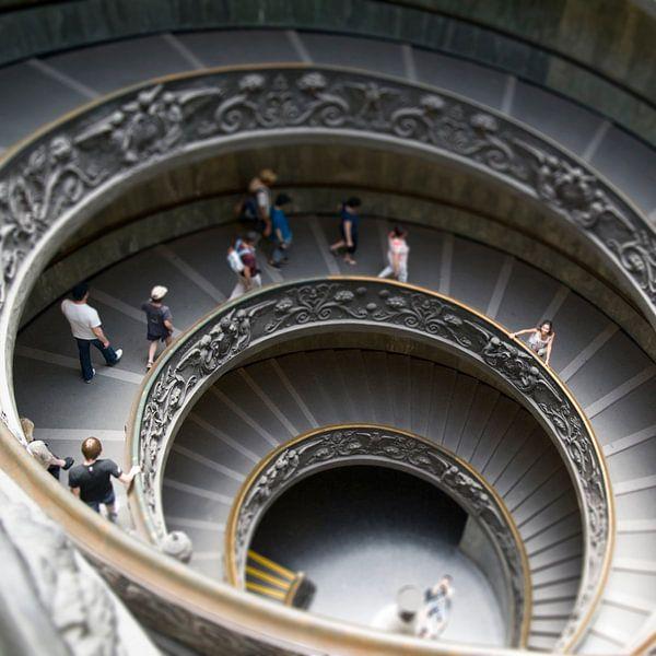 Rome museum trap van Danielle van Leeuwaarden