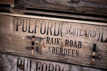 Houten kist van Pulford Scotland LTD van Stephan van Krimpen
