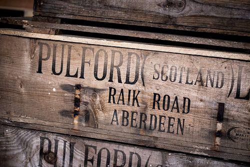 Houten kist van Pulford Scotland LTD