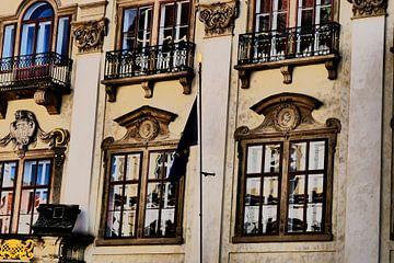 Prag - Reflexionsgebäude von Wout van den Berg