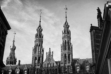 Torens Magna Plaza, Amsterdam von Henk van Brecht