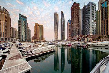 Marina Morning - Dubai van