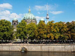 Berliner Dom en de Fernsehturm