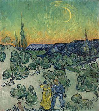 Ein Spaziergang in der Dämmerung, Vincent van Gogh
