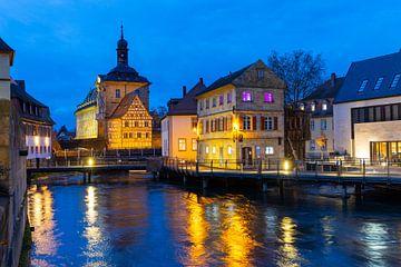 Bamberg Mühlviertel 's avonds van Jan Schuler