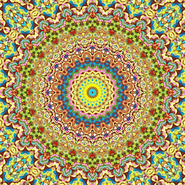 Mandala Style 75 van Marion Tenbergen