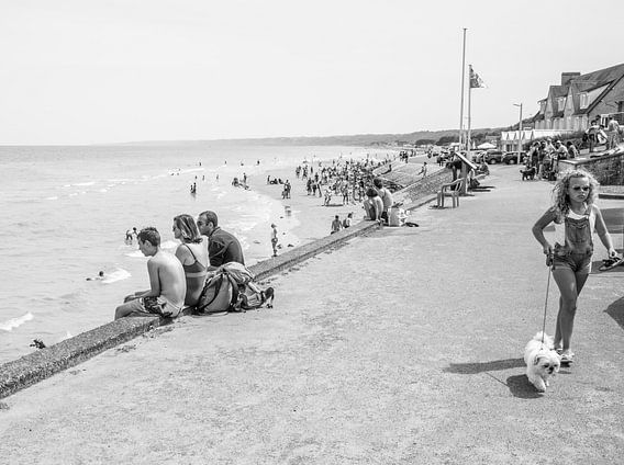 Stranddag in Normandië van Emil Golshani