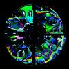 Muziek CD met regenboog druppels van Gert Hilbink thumbnail
