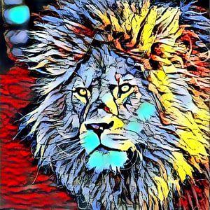 Color Kick Animal - Lion King