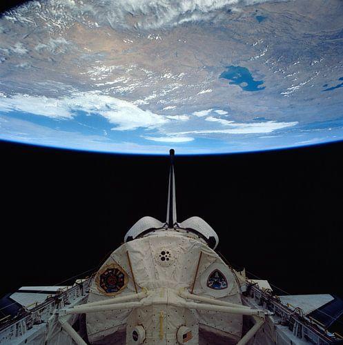 Space Shuttle Colombia Rond De Aarde