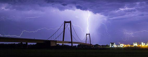 Onweer boven Emmerich