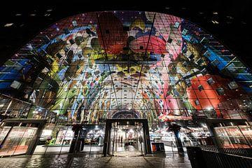 Halle du marché de Rotterdam sur Eddy Westdijk