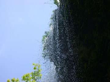 Wasserfall in der Nähe von Hamilton Pool Austin Texas von Atelier Liesjes