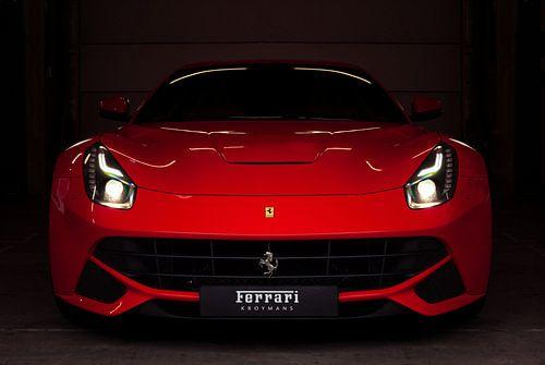Ferrari F12berlinetta van